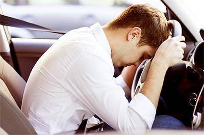 La somnolencia al volante es peligrosa