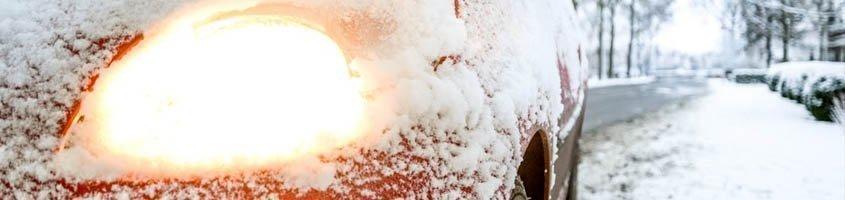 La circulación con nieve