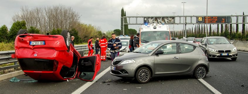 perito en un accidente de tráfico